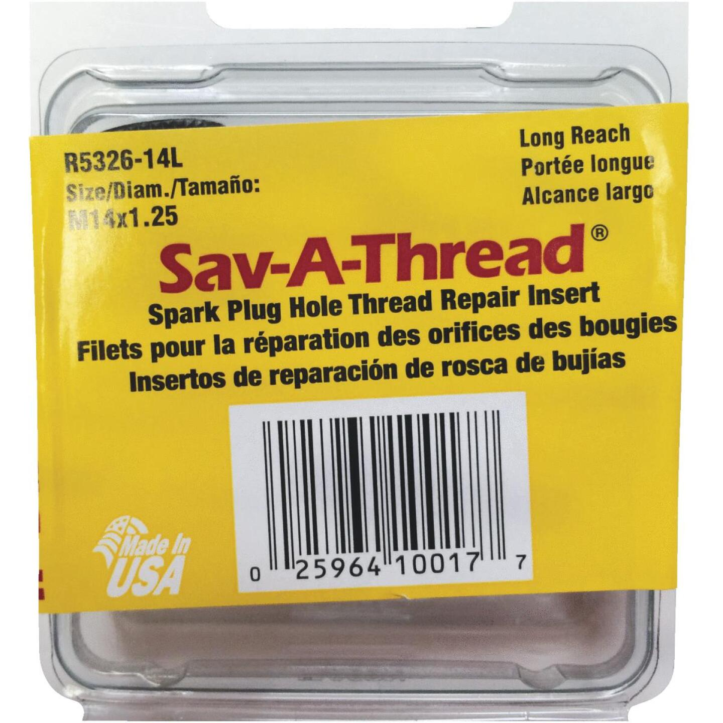 HeliCoil 14 x 1.25mm Long Spark Plug Thread Insert Image 1