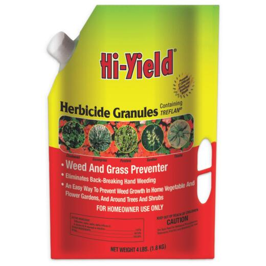 Hi-Yield 4 Lb. Ready To Use Granules Grass & Weed Preventer