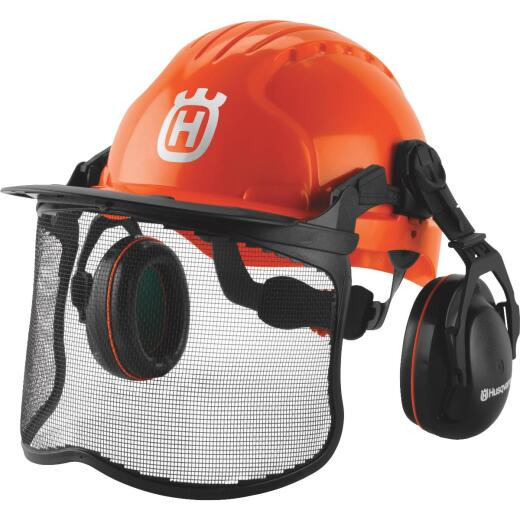 Husqvarna Pro Forest Orange Safety Helmet