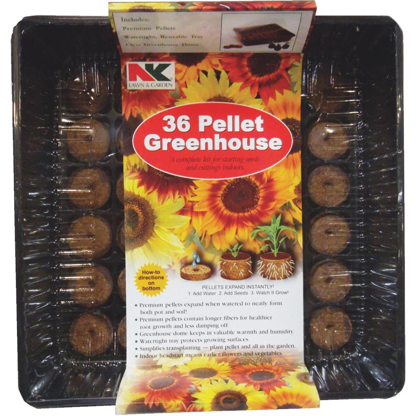 NK 36-Cell Professional Greenhouse Seed Starter Kit Image 1