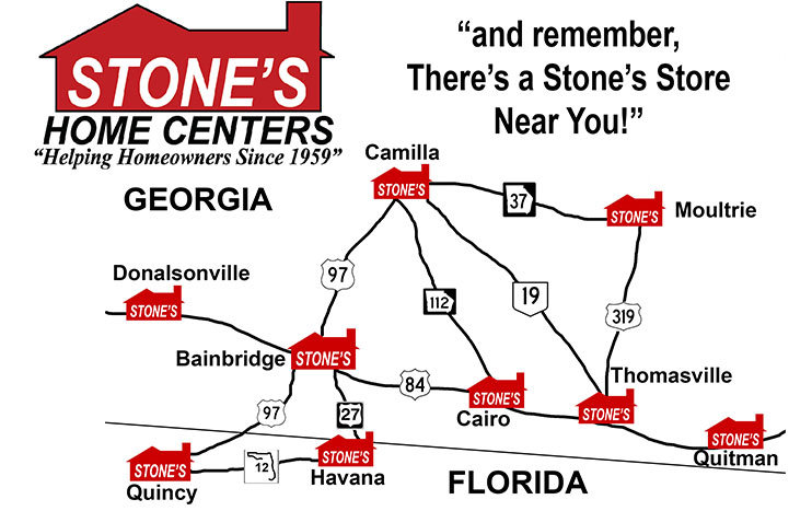 map of stones home centers